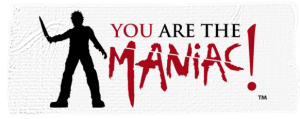 YOU are the Maniac! tape logo