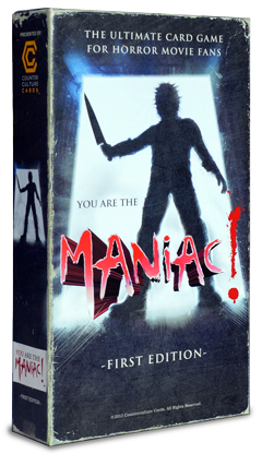 YOU are the Maniac! retail box