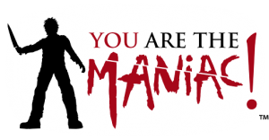 YOU are the Maniac Logo